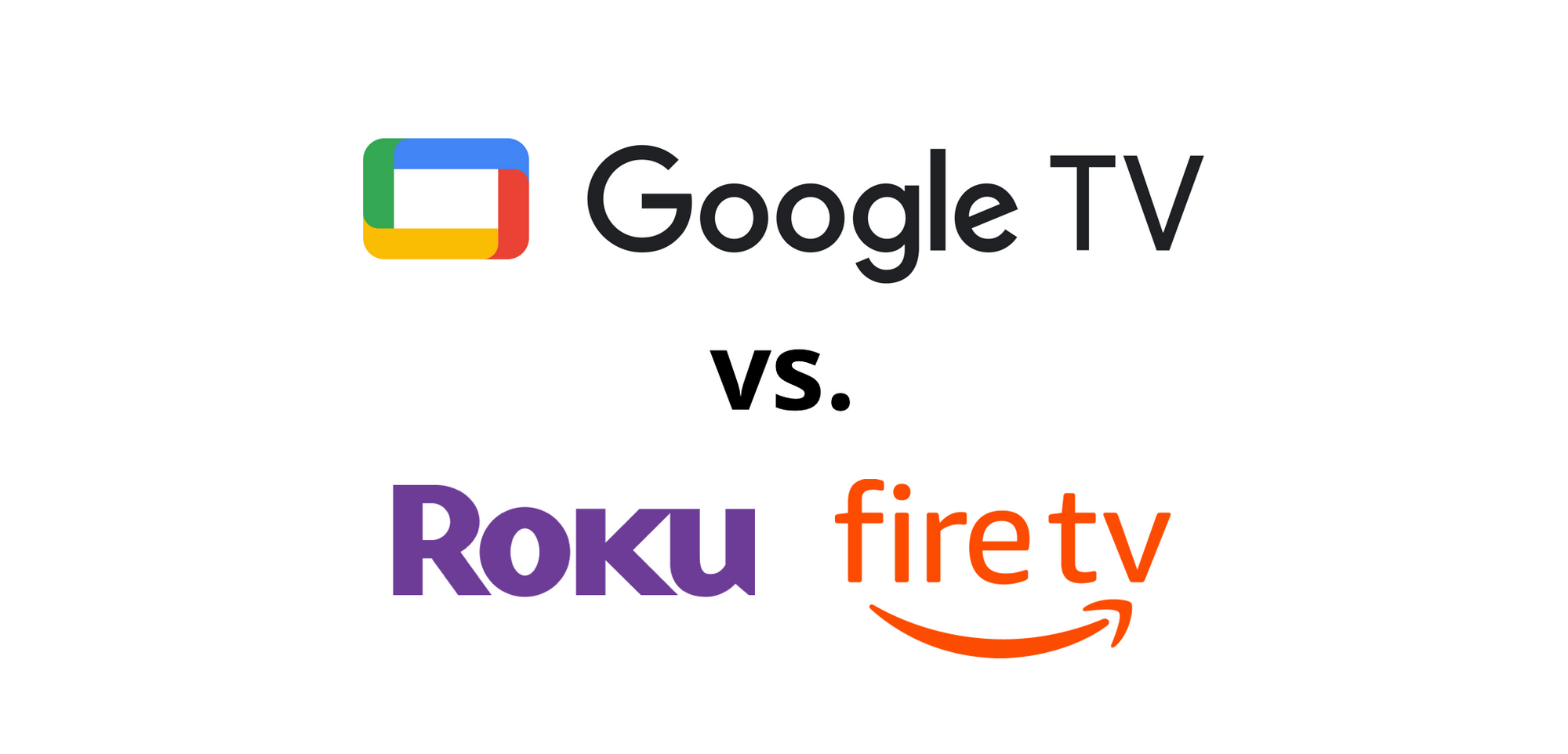 Google TV vs Roku and Amazon Fire TV